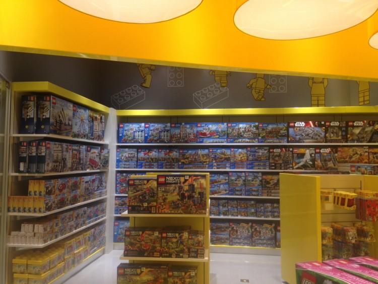 Lego Store shopping Villa Lobos