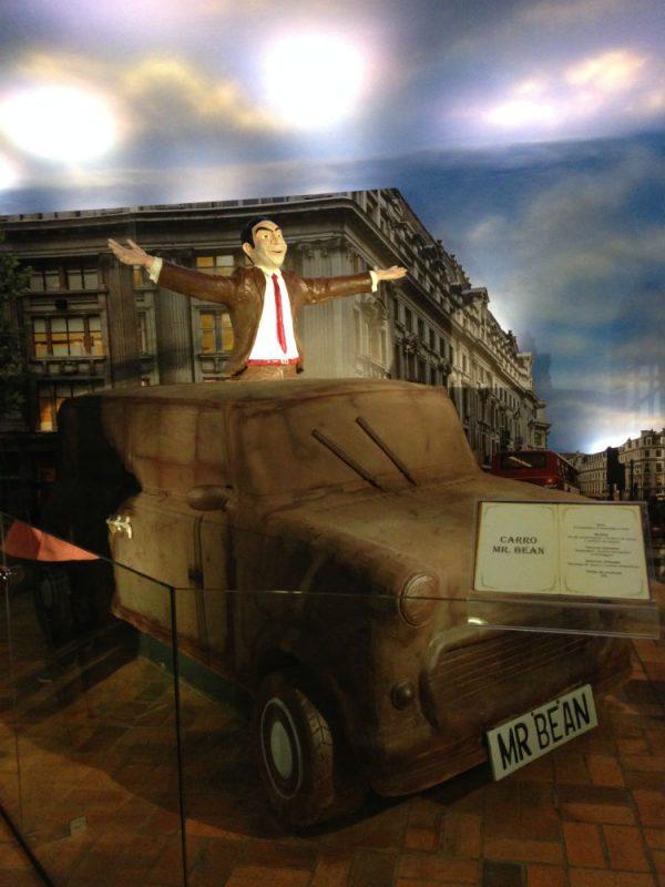 Mundo do Chocolate Carro Mr Bean