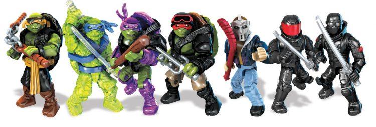 Mega Bloks Tartarugas Ninja