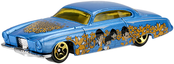 Hot Wheels Yellow Submarine
