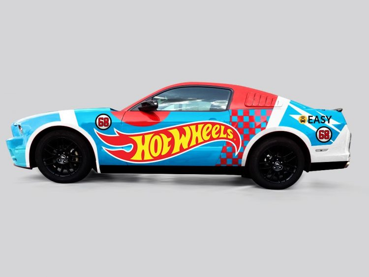 Mustang Hot Wheels Easy