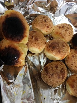 pao de queijo queimado