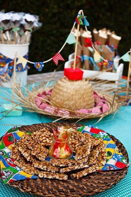 decoração festa junina