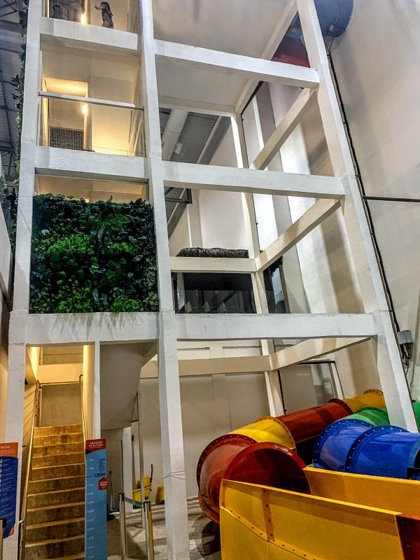parque aquático indoor tauá tobogã
